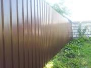 Забор из металлопрофиля с установкой в Минске и области