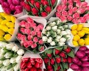 Свежие цветы оптом под заказ к празднику